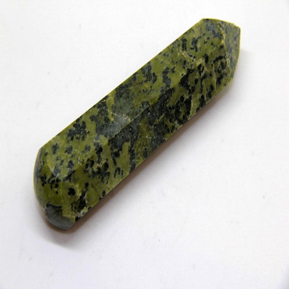 Massageador de Pedra Jade Nefrita - Helena Cristais