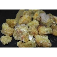 Pedra Mica Amarela Bruta - Helena Cristais