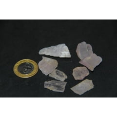 Pedra Kunzita Bruta - Helena Cristais