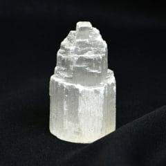 Torre de Selenita Branca 100 g