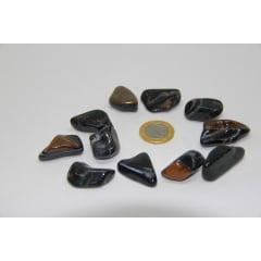 Pedra Olho de Falcão Rolada - Helena Cristais