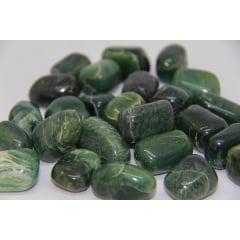 Pedra Jade Canadense Rolada - Helena Cristais
