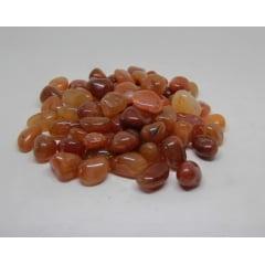Pacote de Pedra Cornalina 1Kg-1 a 3cm