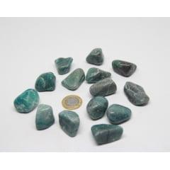Pedra Crisocola Rolada