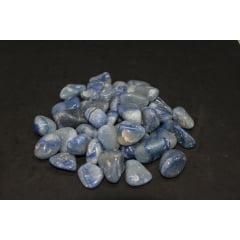 Pacote de Pedra Quartzo Azul 1Kg