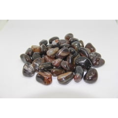 Pacote de Pedra Ágata Marrom 1Kg