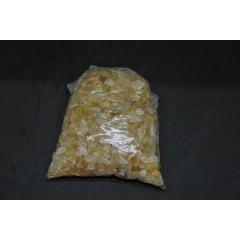 Pacote de Pedra Citrino Rolada 1kg de 0,2 a 1 cm - Helena Cristais