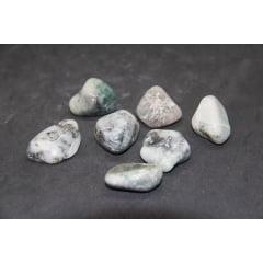 Pedra Esmeralda Rolada - Helena Cristais