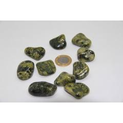 Pedra Jade Nefrita Rolada 3,5 a 4 cm