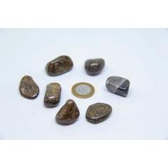 Pedra Bronzita Rolada - Helena Cristais