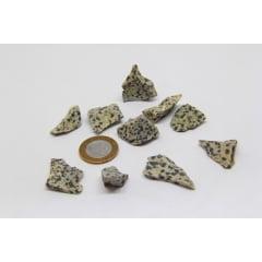 Pedra Jaspe Dálmata Bruta 3,5x4cm