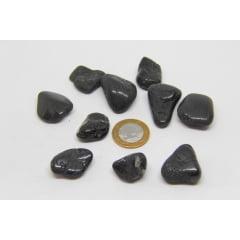 Pacote de Pedra Turmalina Negra Rolada 10 unidades