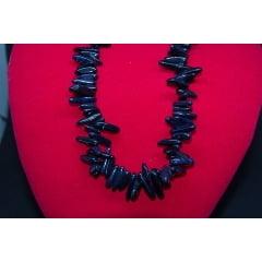Colar de Pedra Estrela Azul Fileto - Helena Cristais
