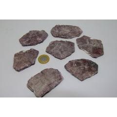 Pedra Mica Roxa Bruta 4x5cm