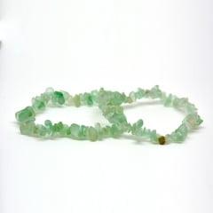 Pulseira de Pedra Fluorita Verde - Helena Cristais