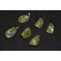 Pingente de Pedra Jade Nefrita