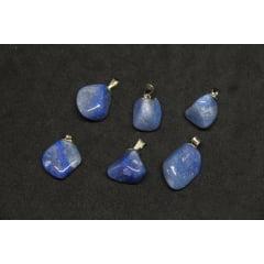 Pingente de Pedra Quartzo Azul