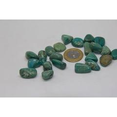 Pedra Turquesa com Furo