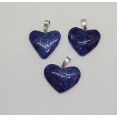 Pingente de Pedra Quartzo Azul - Helena Cristais