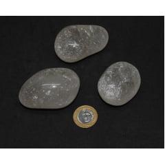 Pedra Quartzo Cristal Rolada