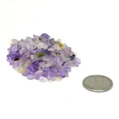 Pacote de Pedra Ametista Cascalho 1 Kg - Helena Cristais