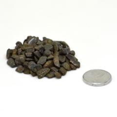Pacote de Pedra Bronzita Cascalho 500g - Helena Cristais