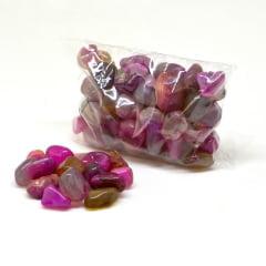 Pacote de Pedra Ágata Rosa 100 g