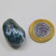 Pedra Jaspe Madagascar Rolada 3x4cm