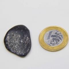 Pedra Mica Preta Rolada 3×3,5cm