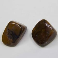 Pedra Jaspe Olho de Ferro Rolada 3×3,5cm
