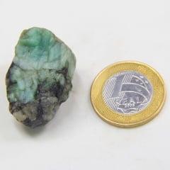 Pedra Esmeralda Bruta 2,5×3,5cm