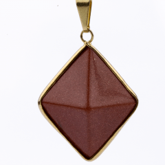 Pingente Pirâmide Pedra do Sol