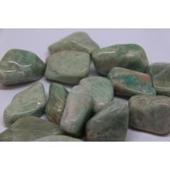 Pedra Amazonita Rolada - Helena Cristais