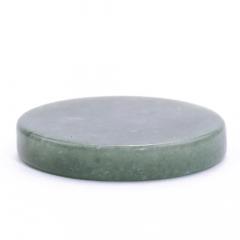Botão de Quartzo Verde G