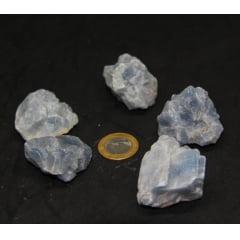 Pedra Calcita Azul Bruta