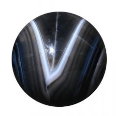 Agata Negra em Esfera 468g