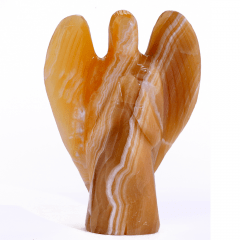 Anjo de Pedra Calcita Mel 576 g