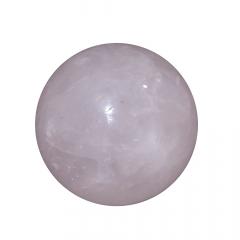 Pedra Quartzo Rosa em Bola 171g