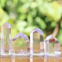Ponta de Cristal Transparente de 3 a 5 cm