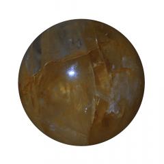 Quartzo Hematoide em Esfera 172g