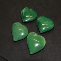 Coração Quartzo Verde 6cm