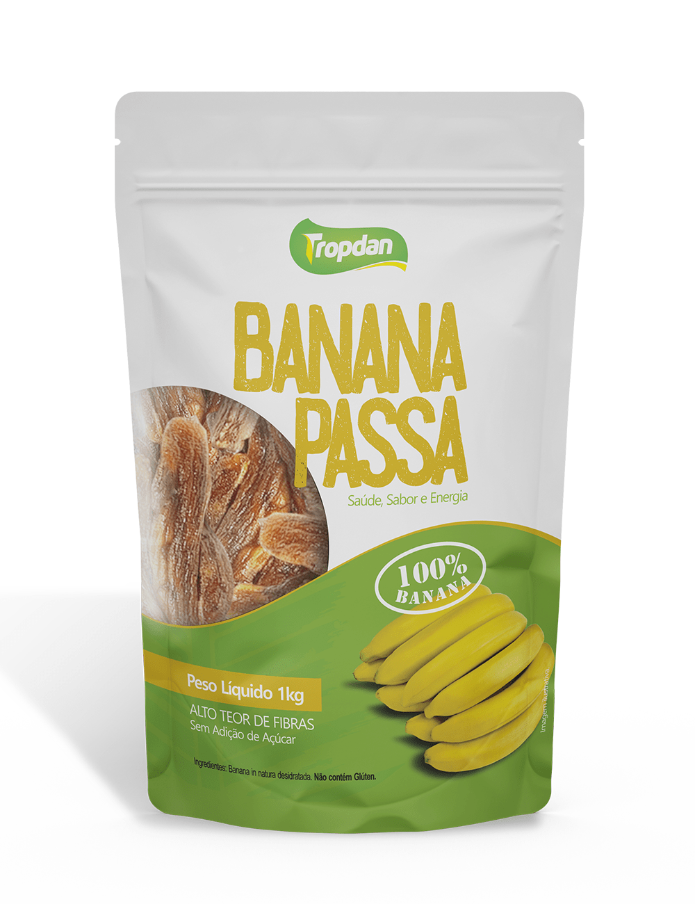 Banana Passa Pacote 1KG