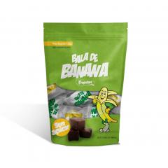 Bala de Banana Sem adição de Açúcar - Pacote com 120g