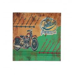 Placa Motorcycle – MDF 20x20cm