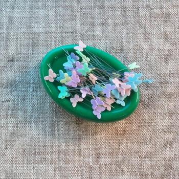 Imã p/ Alfinetes Verde