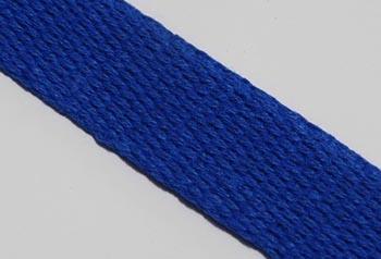 Alça de Algodão Azul Royal 3cm