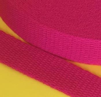 Alça de Algodão Pink 3cm