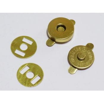 a842b87fac Botão Imantado 14mm Dourado (Pcte com 5)