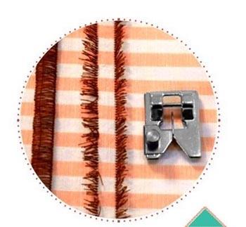 Sapata para Franjas e Texturas CY-9906