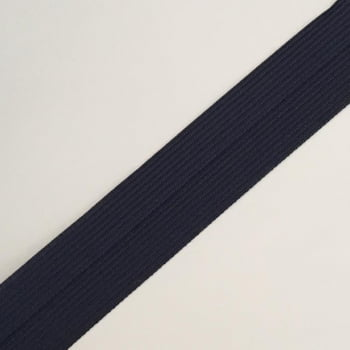 Viés Industrial (Boneon) 25mm Macio Azul Marinho